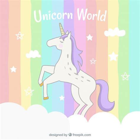 descargar imagenes de unicornios gratis fondo de rayas de colores con unicornio descargar