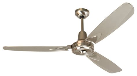 modern stainless steel ceiling fans craftmade ve58ss3 stainless steel modern three blade 56