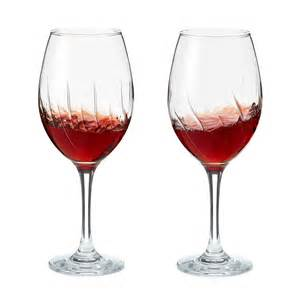 Wine Glasses Aerating Wine Glasses Set Of 2 Oxygenating Stemware Uncommongoods