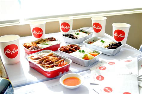 airasia hot meals air asia hot meals delicious food in the sky the life