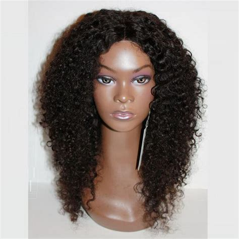 kinky curly short weaves for black woman long kinky curly synthetic lace front wig heat resistant