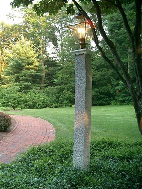 lpost or l post landscape light post outdoor lighting post decoration