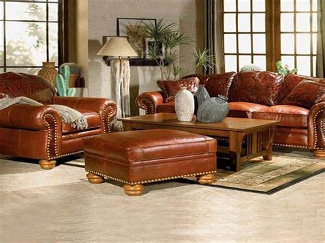 Leather Living Room Decorating Ideas | living room decorating ideas with brown leather furniture