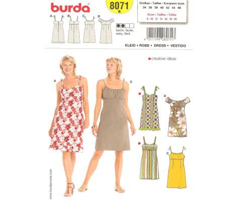 patterns free burda burda 8071 misses dress