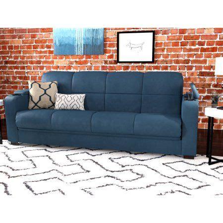 abbyson living signature convertible sofa mainstays tyler microfiber storage arm futon sofa sleeper