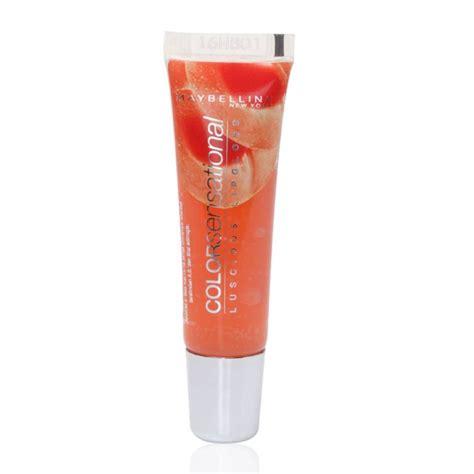 maybelline color sensational lip gloss maybelline color sensational lip gloss 410 sorbet 11