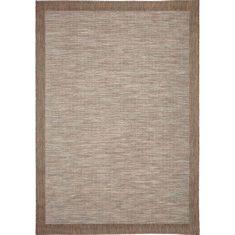 Area Rugs With Borders Orian Rugs Shoreline Border Gray 5 Ft 1 In X 7 Ft 6 In Stripes Indoor Outdoor Area Rug