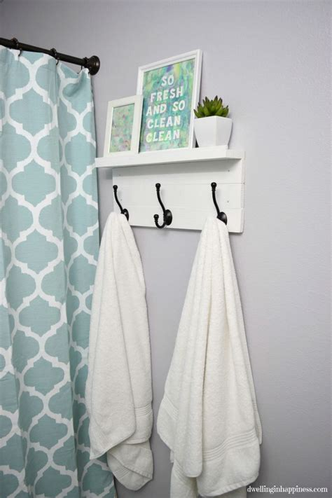 Bathroom Rack With Hooks 25 Best Ideas About Bathroom Towel Hooks On