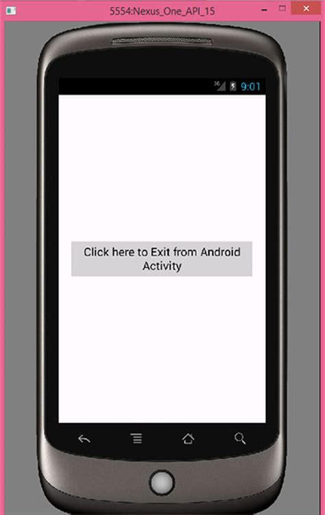 android button layout width programmatically exit close android app programmatically on button click