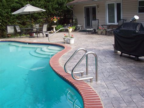 pool pavers remodel your pool deck with pavers from outdoor severna park pool design with resurface pool deck