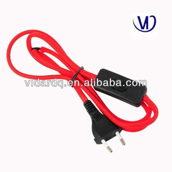 colored extension cords colored braided power cord with switch and buy