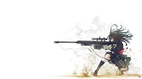 Anime Gun Wallpaper Wallpapersafari Anime With Gun Hd Wallpaper 1920x1080
