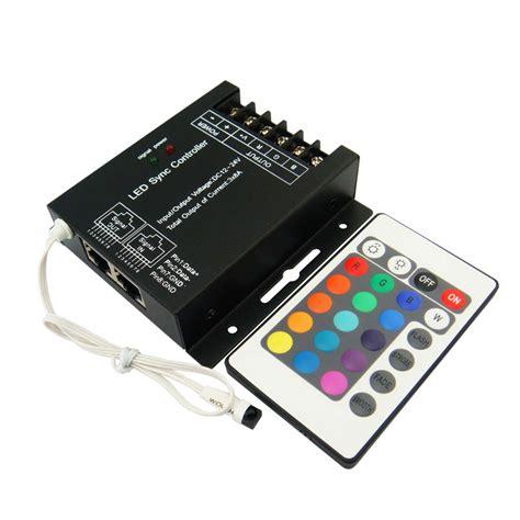 rgb led light controller 12v 24v 24a rgb led controller 44 key remote company mjjcled