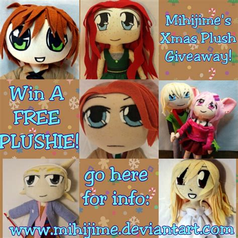 Free Giveaways 2013 - free plushie giveaway 2013 5 hours to go by mihijime on deviantart
