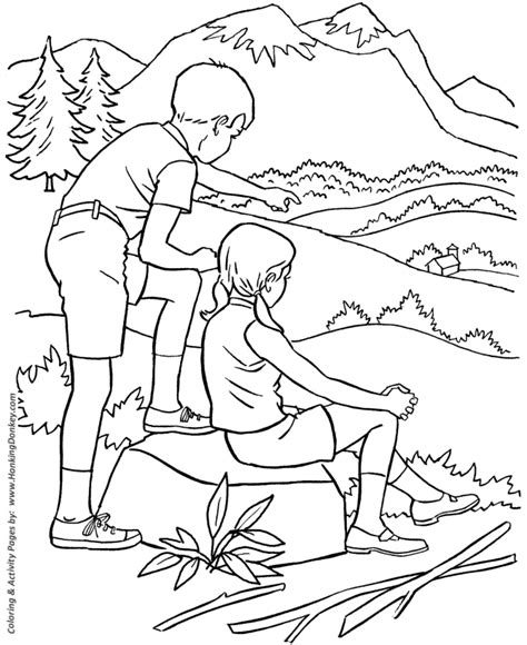 free coloring pages of season of summer