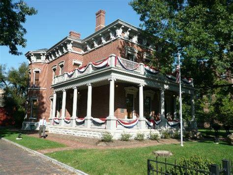 benjamin harrison house indianapolis harrison house picture of benjamin harrison presidential