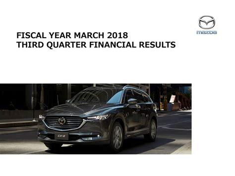 mazda motor corp mazda motor corp adr 2018 q3 results earnings call