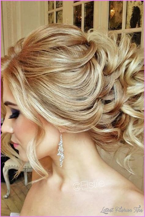 hairstyles for wedding guests latestfashiontips