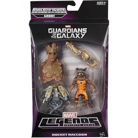 Marvel Legends Guardian Of The Galaxy Series Rocket Mini Groot marvel guardians of the galaxy rocket raccoon figure walmart