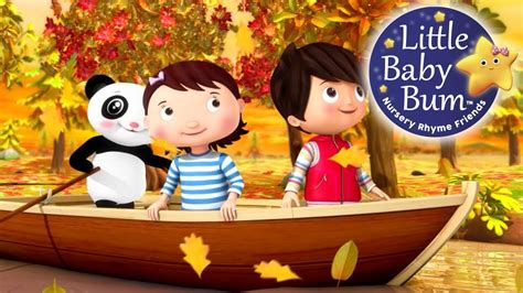 row your boat little baby bum row your boat little baby bum nursery rhymes for