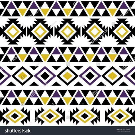 aztec tribal pattern vector aztec tribal seamless pattern design stock vector