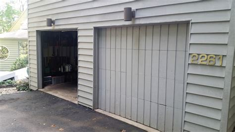3 door garage garage door repair 3 before g s garage doors