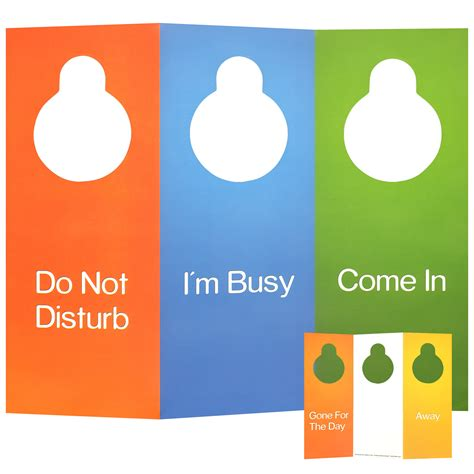 come on in this room multi sided door hanger 6 sided foldable do not disturb sign free shipping chris norstrom