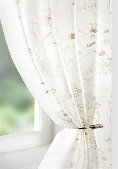 What Is Voile Curtains flower voile curtain panel free uk delivery terrys fabrics