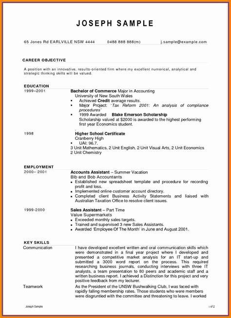 7 Cv Sle For Accounting Job Bdf Theorynpractice Employment Cv Template