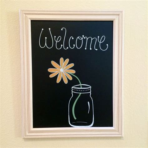 diy chalkboard printable sign diy chalkboard welcome sign lettering and printables