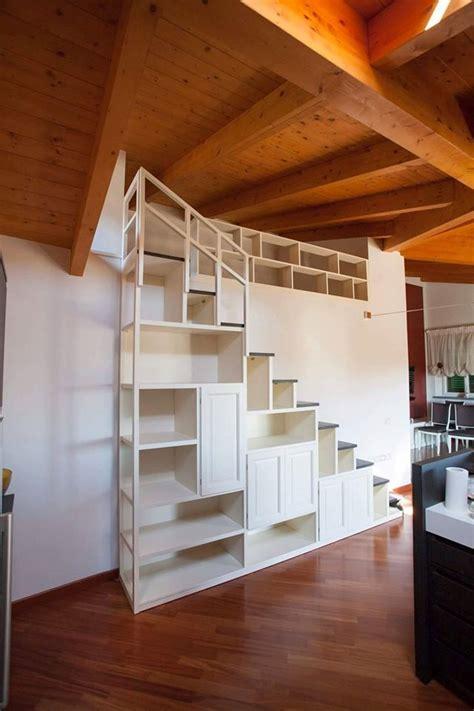 scala libreria scala libreria su misura scala artigianale in legno