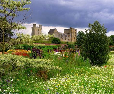 The Uk S Beautiful Gardens Are The Perfect Place To Enjoy Walled Garden Helmsley