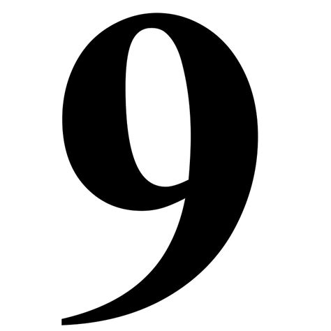 Letter No 9 Font Image Gallery Number 9 Fonts