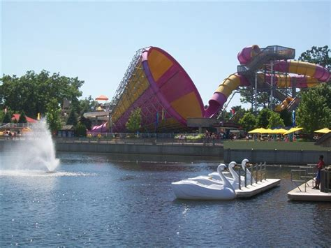 swan boats cedar point theme park review photo tr michigan adventure and funny