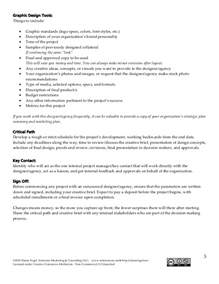 Creative Brief Template by Creative Brief Template For Nonprofits