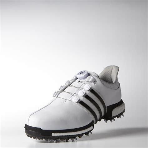 Sepatu Golf Adidas Tour360 Eqt Boa Original adidas tour360 boa boost golf shoes white black silver metallic scottsdale golf