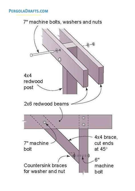 diy pergola building plans blueprints