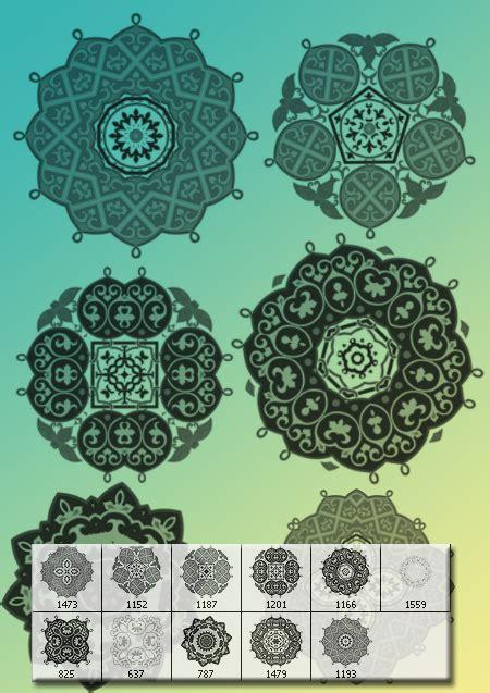 arabic patterns for photoshop free photoshop brushes at 11 decorative brushes