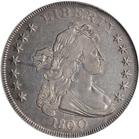 draped bust silver dollar 1800 us draped bust silver dollar 1 ngc xf40 ebay