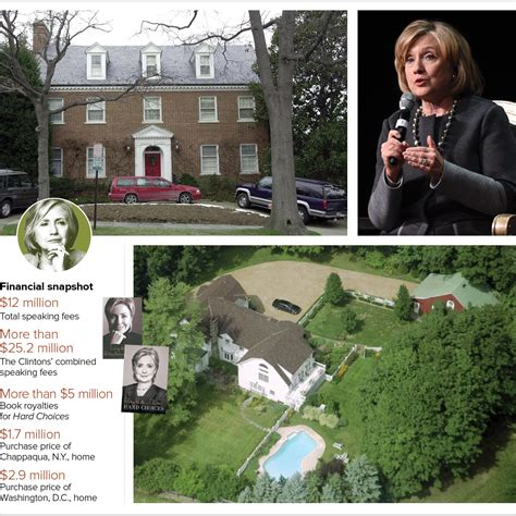 where do the clintons live debt drove hillary clinton s caign fundraising politico
