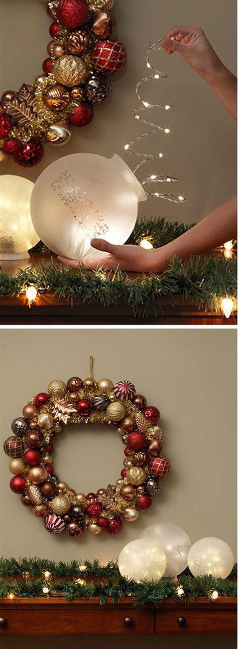 home made xmas decorations 20 homemade christmas decoration ideas tutorials hative