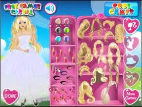barbie perfect bride dress up game youtube