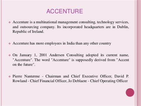 Accenture Mba Recruiting by Recruitment Process Of Accenture