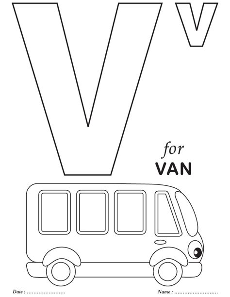 letter v coloring pages preschool free coloring pages of bubble letter v