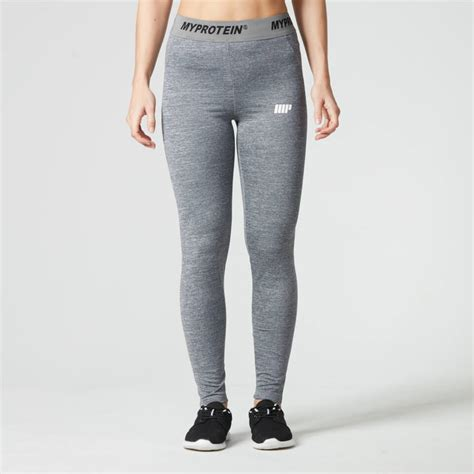 Legging Olah Raga Better Bodies s high waisted blue marl myprotein