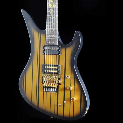 Gitar Shecter Snynyser Gates 2 schecter synyster gates custom s satin gold burst west guitars