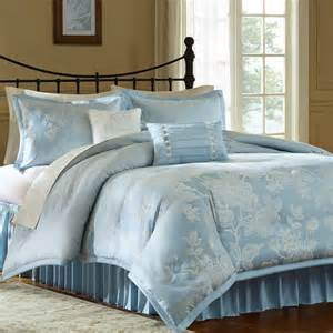 jaclyn smith arbor blue comforter set