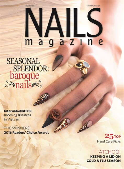 nail magazine nails magazine december 2016 issue