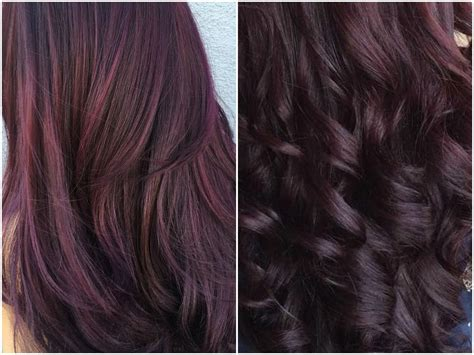 purple burgundy hair color 60 burgundy hair color ideas maroon deep purple plum