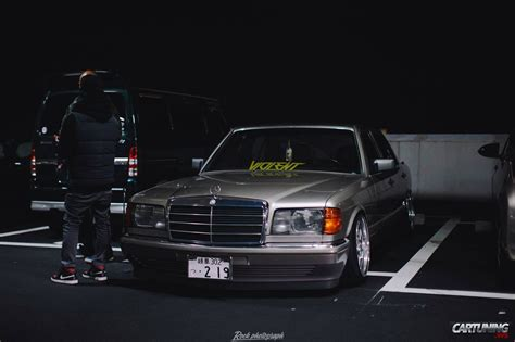 lowered mercedes lowered mercedes benz s class w126 front